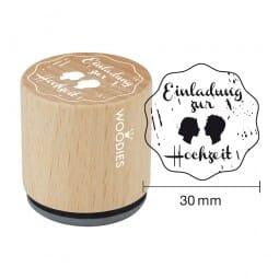Woodies Stempel - Einladung zur Hochzeit (Gesichter)