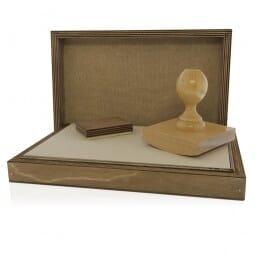 Signier-Stempelkissen aus Holz Nr. 5 (300x200 mm)