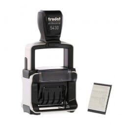 Trodat Professional 5430/L Datumstempel 41 x 24 mm