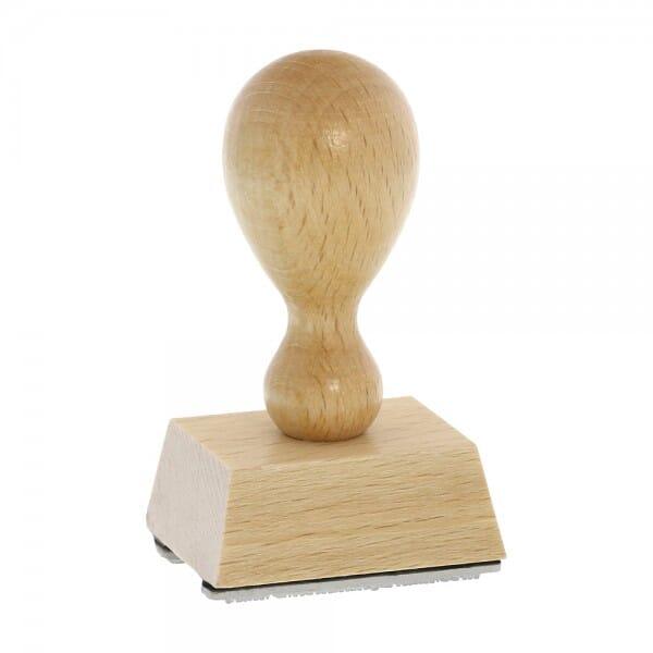 Holzstempel rechteckig, 40 x 30 mm