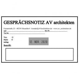 Trodat Professional 54120 Datumstempel - 116 x 70 mm - 6 + 6 Zeilen