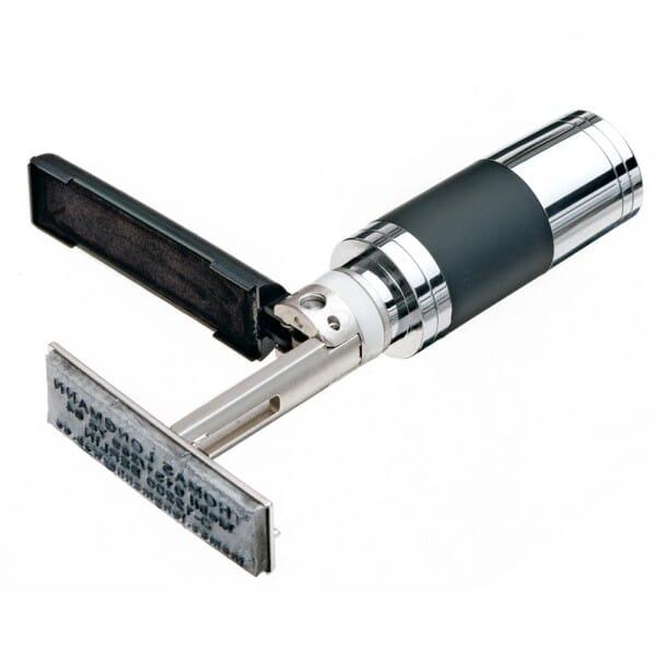 Heri USB-Stamp 8 GB soft-touch Lack (33x8 mm - 3 Zeilen)