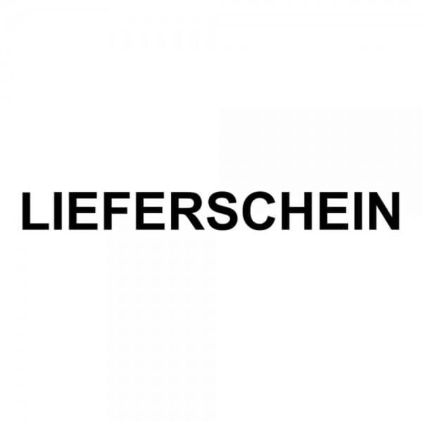 """Holzstempel mit Standardtext """"LIEFERSCHEIN"""""""