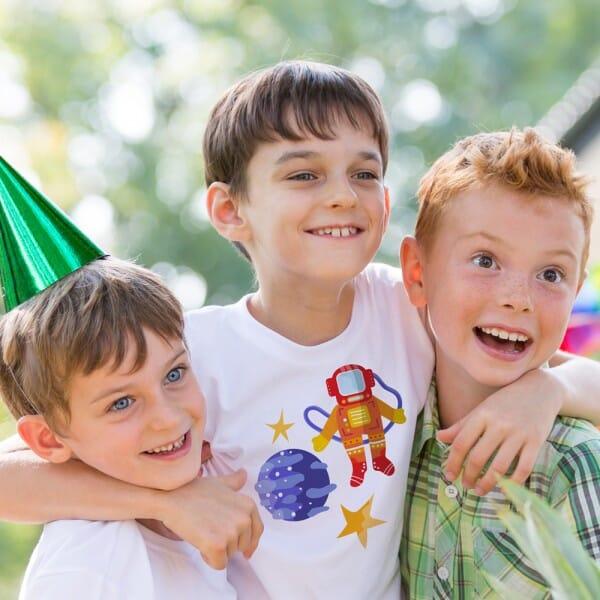 Kids T- Shirt individuell bedruckt (25x25 cm)