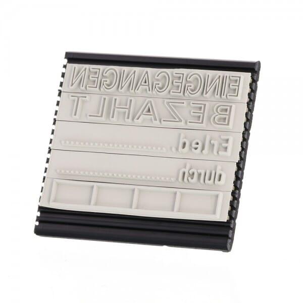 Textplattenset für 5440/L