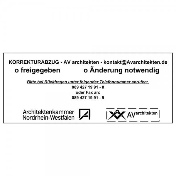 Holzstempel (200x100 mm - 20 Zeilen)