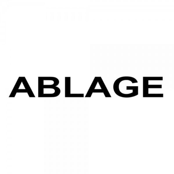 """Holzstempel mit Standardtext """"ABLAGE"""""""