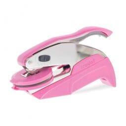 Trodat Ideal Prägezange 41 mm rund - Pink