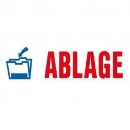 "AKTION - Trodat Office Printy Textstempel ""Ablage"""