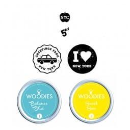 Woodies Stempel SET - New York WS0014