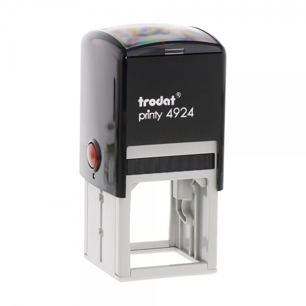 Trodat Printy 4924 - Textstempel - 40 x 40 mm - 8 Zeilen