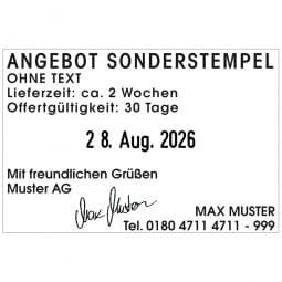 Trodat Printy 4727 Dater (60x40 mm - 6 Zeilen)