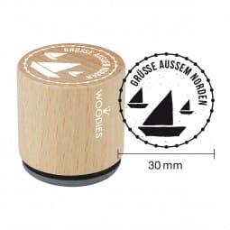 Woodies Stempel - Grüsse Norden