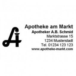 Trodat Apotheken Adressstempel 5206 - 56 x 33 mm