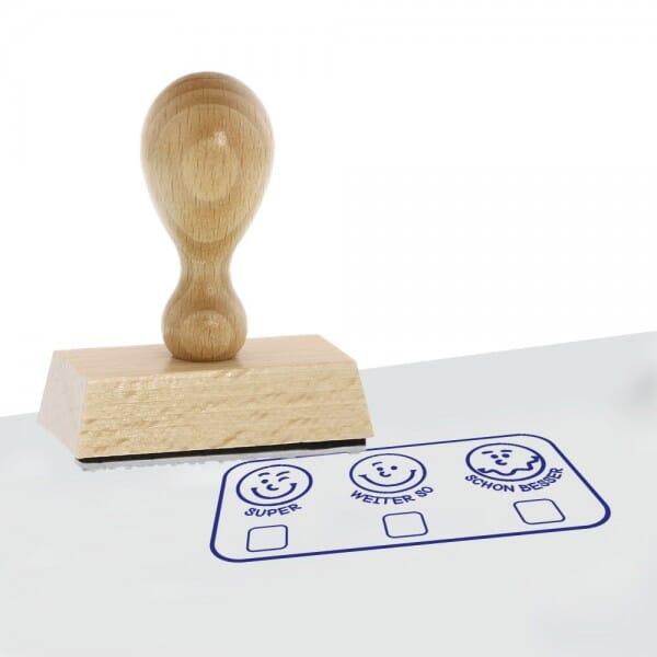 Holzstempel Pädagogik (60x30 mm)