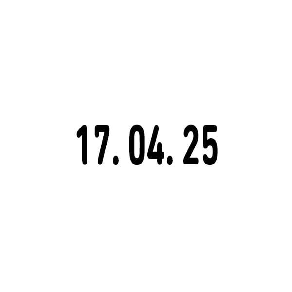 Trodat Classic Datumstempel 1014 19 x 4 mm
