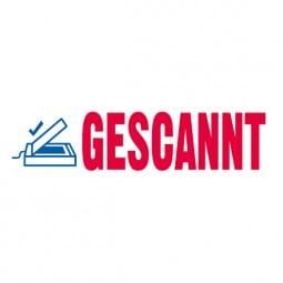 "Trodat Office Printy Textstempel ""Gescannt"""