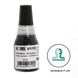 NORIS Stempelfarbe Dunkelgrün Pantone 335