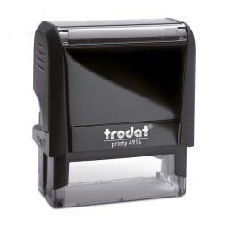 Trodat Printy 4914 - Textstempel - 64 x 26 mm - 7 Zeilen