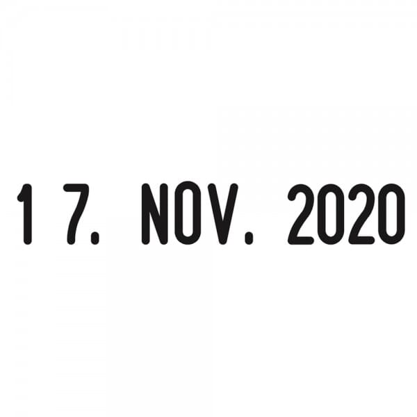 Trodat Classic Datumstempel 1000 19 x 3 mm