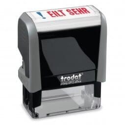 """AKTION - Trodat Office Printy Textstempel """"Eilt sehr"""""""