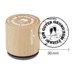 Woodies Stempel - Guter Grund zum Feiern (Gläser)