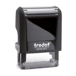 Trodat Printy 4911 - Textstempel - 38 x 14 mm - 3 Zeilen