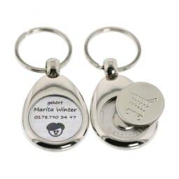 Schlüsselanhänger (Gravurmaße Ø 20 mm)