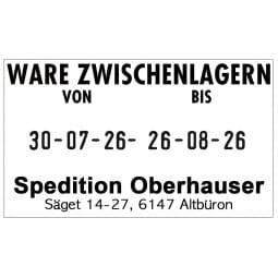 Trodat Professional 5466/PL (56x33 mm - 4 Zeilen)