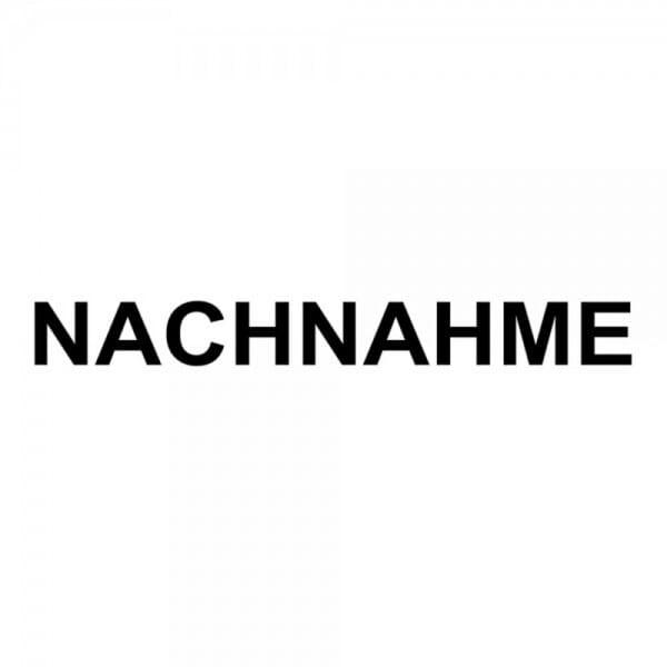 """Holzstempel mit Standardtext """"NACHNAHME"""""""