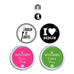 Woodies Stempel SET - Berlin WS0009