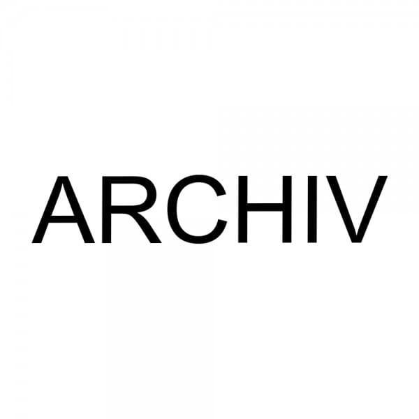 """Holzstempel mit Standardtext """"ARCHIV"""""""
