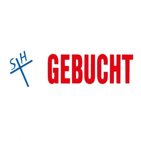 "Trodat Office Printy Textstempel ""Gebucht"""