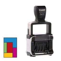 Trodat Professional 5431 MCI (41x24 mm - 2 Zeilen)