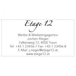 AKTION - Trodat Printy 4926 grau / blaues Stempelkissen (75x38 mm - 10 Zeilen)