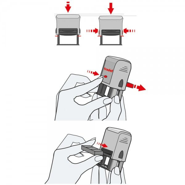 Colop Ersatzkissen E/Pocket Stamp 30 Plus zu 2 Stück