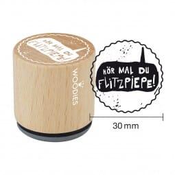 Woodies Stempel - Flitzpiepe