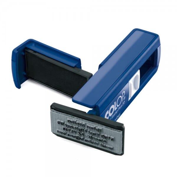 Colop Pocket Stamp Plus 20 Microban (38x14 mm - 4 Zeilen)