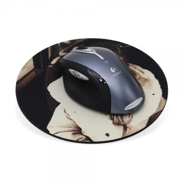 Textil Mousepads individuell bedruckt (19x19 cm)