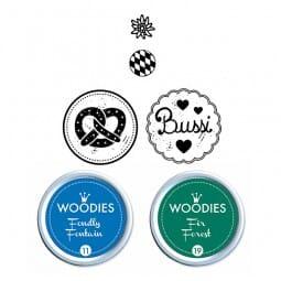 Woodies Stempel SET - Bayern WS0011