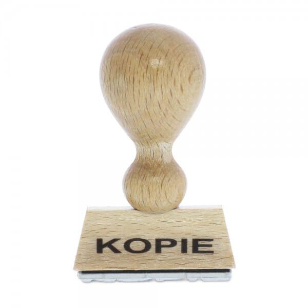 """Holzstempel mit Standardtext """"KOPIE"""""""