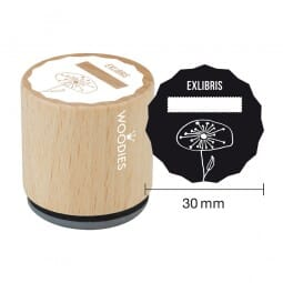 Woodies Stempel - EXLIBRIS - 2